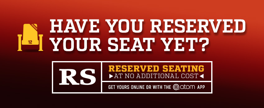 Reserved Seating image