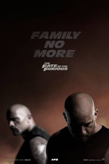 The Fate of the Furious IMAX Trailer movie poster