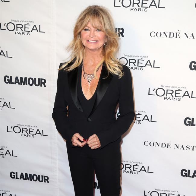 Goldie Hawn in super-shape on Snatched