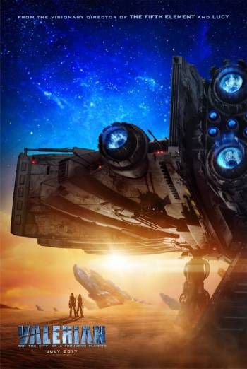 Valerian And The City Of A Thousand Planets - Trailer movie poster