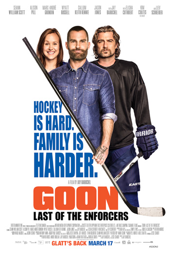 Goon 2: Last of the Enforcers Trailer movie poster