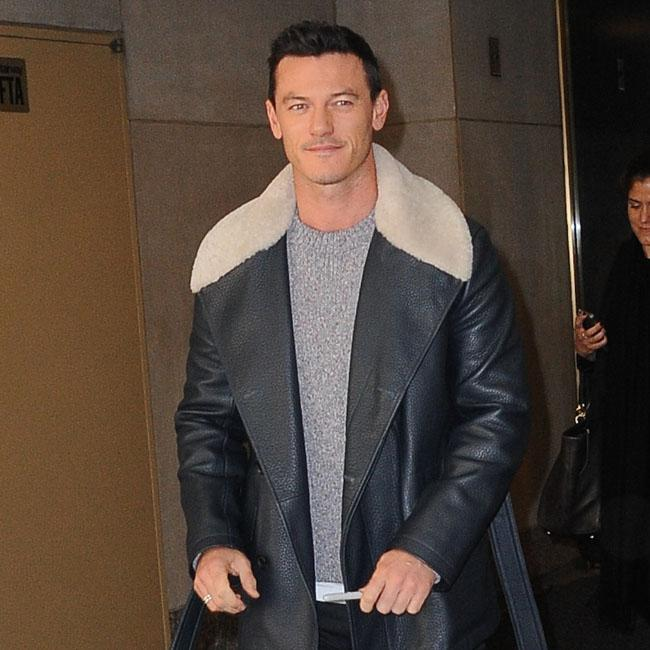 Luke Evans liberated by role