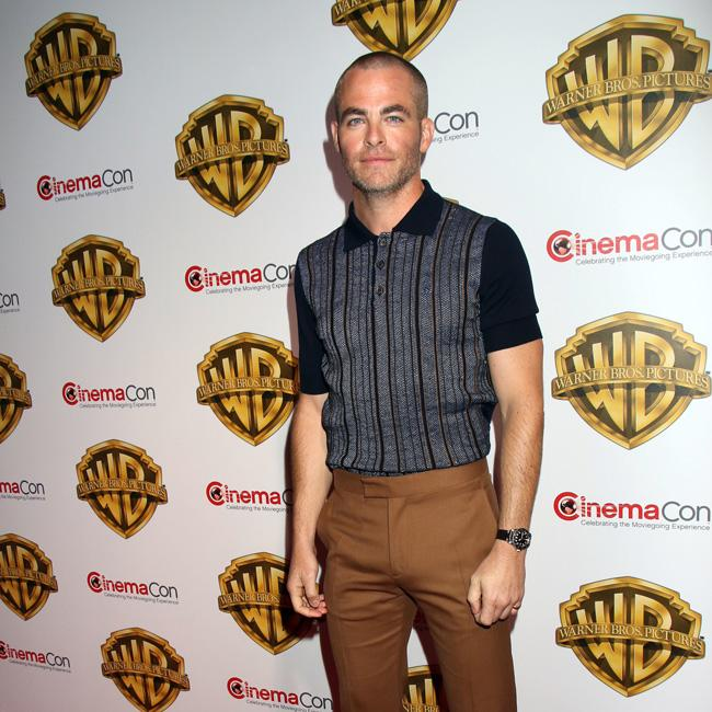 Chris Pine toned up for Wonder Woman for nothing