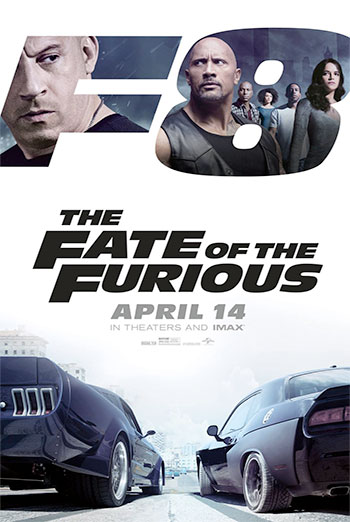 The Fate Of The Furious - Trailer movie poster
