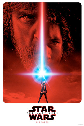 Star Wars: The Last Jedi Official Teaser movie poster