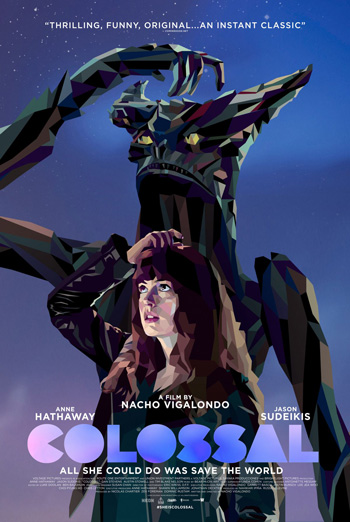 Colossal Trailer movie poster