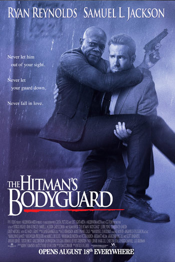 The Hitman's Bodyguard - Restricted trailer movie poster