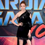 Karen Gillan mistaken for a man after Galaxy haircut
