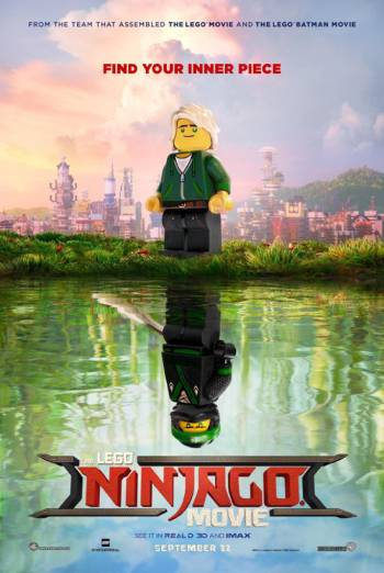 The LEGO Ninjago Movie Trailer movie poster