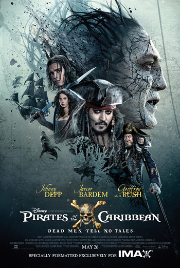 Pirates Of The Caribbean: Dead Men Tell No Tales IMAX - Javier Bardem Greeting movie poster