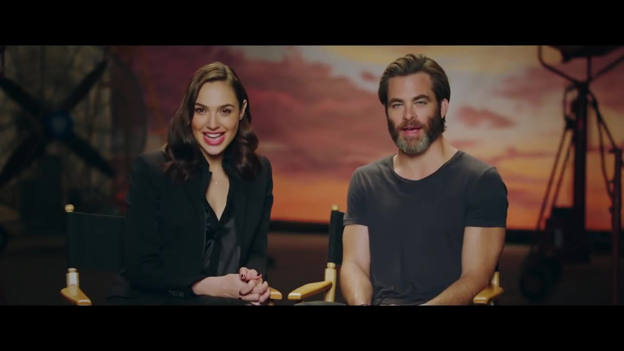 watch Wonder Woman IMAX - Gal Gadot & Chris Pine Greeting