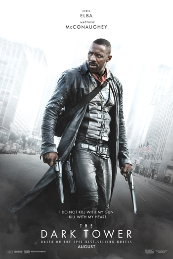 The Dark Tower Trailer movie poster
