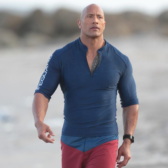 Dwayne Johnson told Baywatch cast to use 'butt glue' on set
