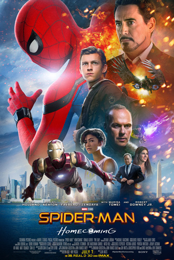 SPIDER-MAN: HOMECOMING - Stark Industries Suit movie poster