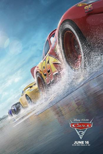 Cars 3 Trailer movie poster