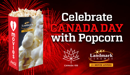 Celebrate Canada Day with Popcorn!