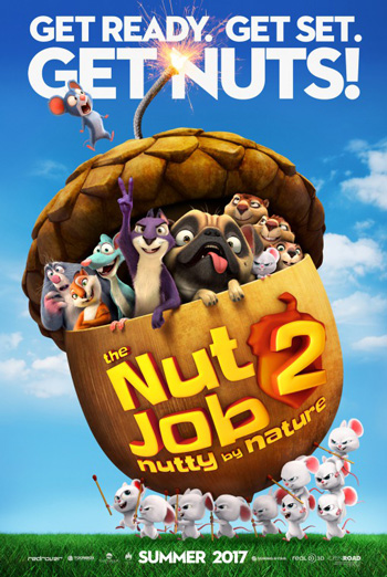 Nut Job 2: Nutty by Nature Trailer movie poster