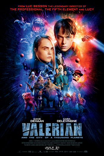 Valerian And The City Of A Thousand Planets - Featurette movie poster