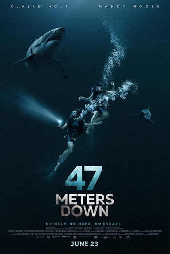 47 Meters Down Trailer movie poster
