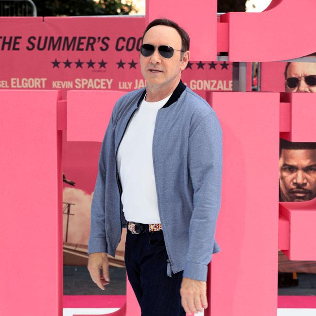 Kevin Spacey says Baby Driver set was lots of fun