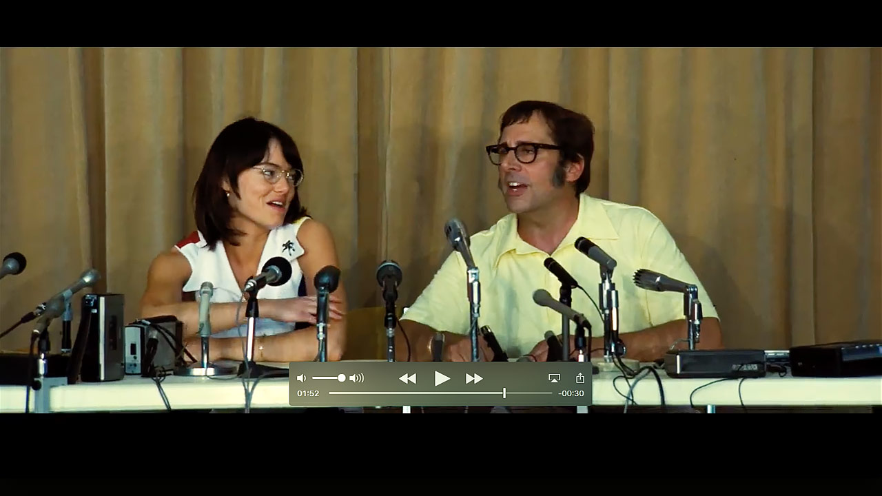 watch Battle of the Sexes Official Trailer