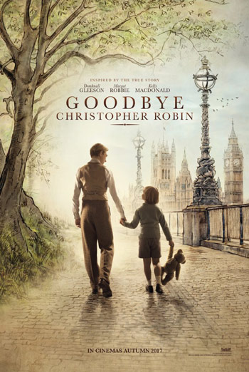 Goodbye Christopher Robin Official Trailer movie poster
