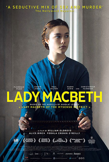 Lady Macbeth Official Trailer movie poster