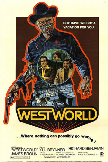 Westworld Movie Trailer 1973 movie poster