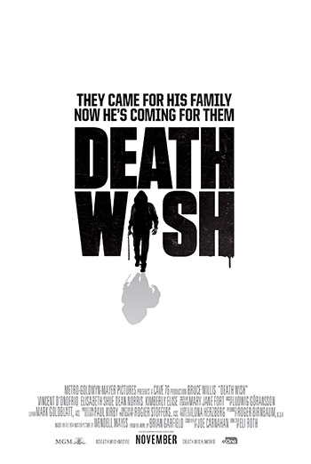 Death Wish Official Movie Trailer movie poster
