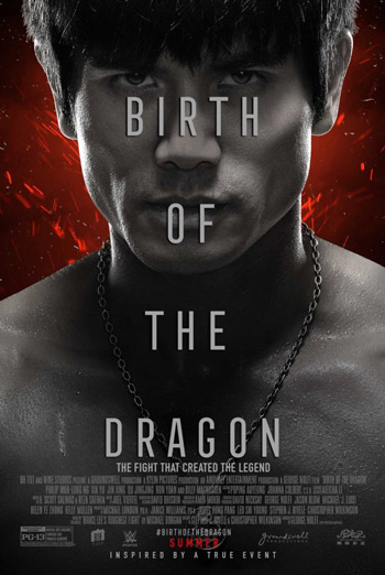 Birth of the Dragon Trailer movie poster
