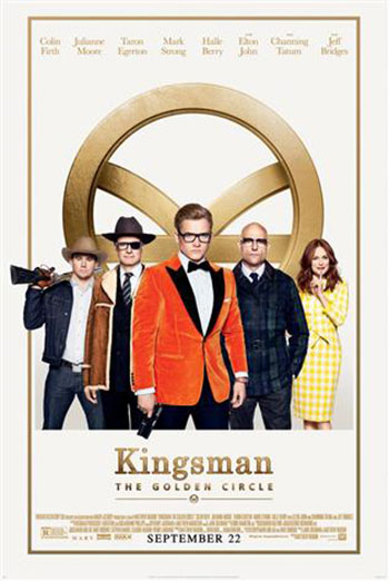 Kingsman: The Golden Circle Official Trailer movie poster