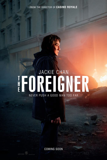 The Foreigner Trailer 2 movie poster