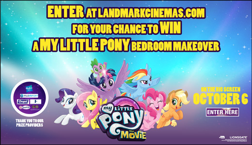 MY LITTLE PONY: THE MOVIE Bedroom Makeover Prize Pack
