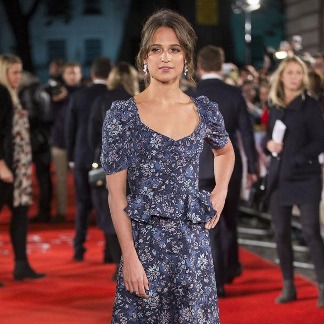Alicia Vikander still shocked by Oscars win
