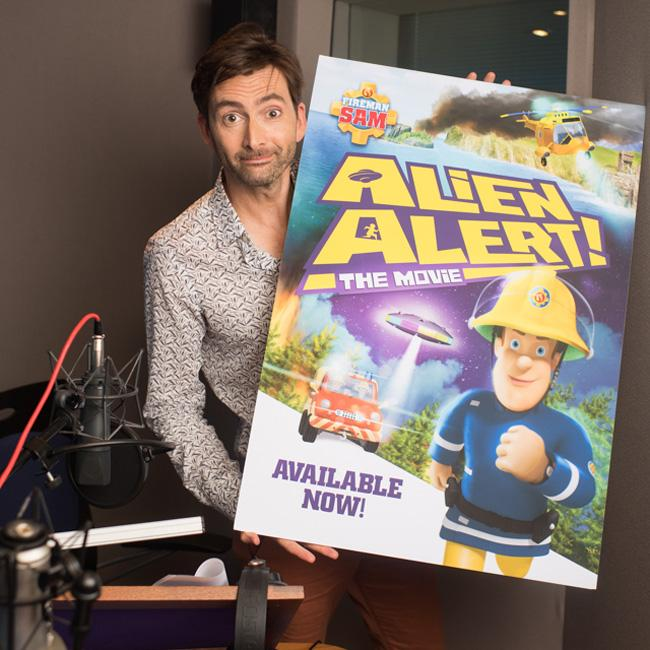 David Tennant felt like Derek Acorah in Fireman Sam: Alien Alert