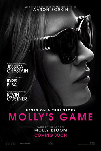 Molly's Game Trailer 2 movie poster