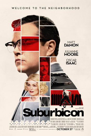 Suburbicon Trailer movie poster
