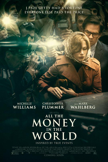 All the Money in the World Trailer movie poster