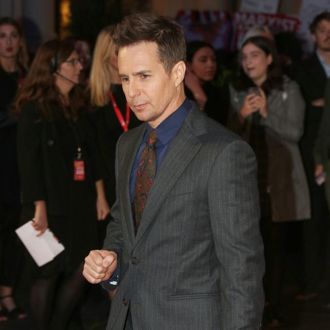 Sam Rockwell needs laughs on set
