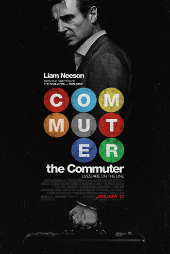 The Commuter Trailer movie poster