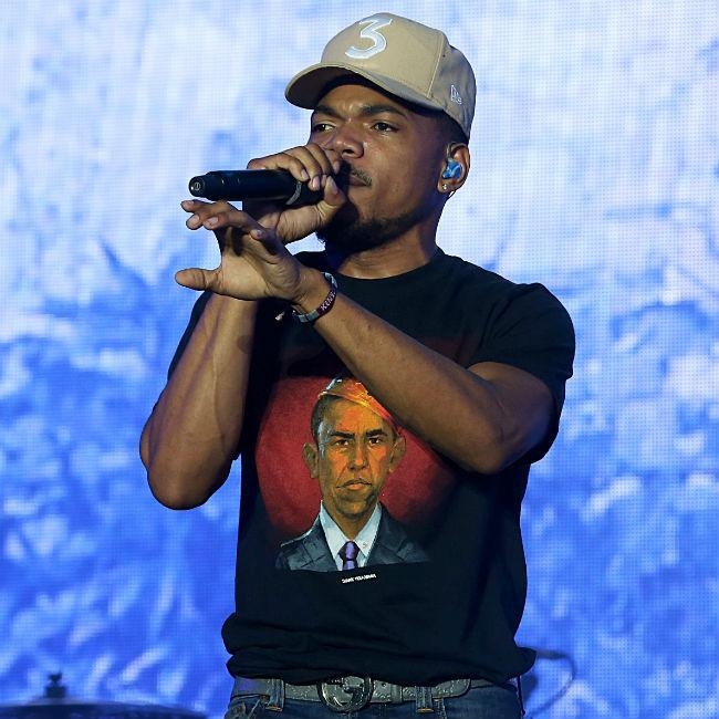 Chance The Rapper wants to make film on President Donald Trump