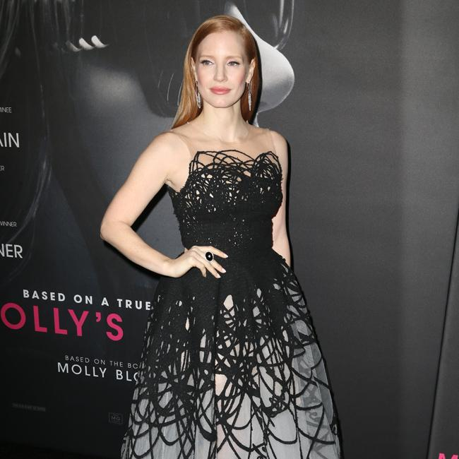 Jessica Chastain inspired by Kardashians
