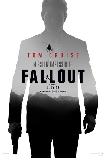 Mission Impossible: Fallout Behind-the-Scenes: Helicopter movie poster