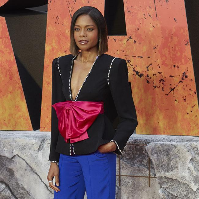 Naomie Harris practised trying to cry