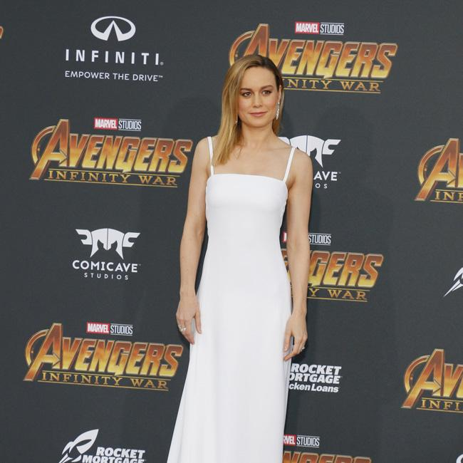 Brie Larson can lift 215lbs after Captain Marvel training