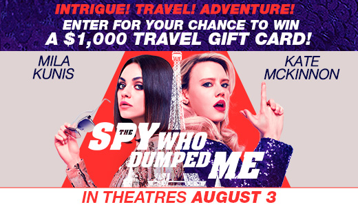 The Spy Who Dumped Me Contest