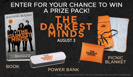 The Darkest Minds Prize Packs