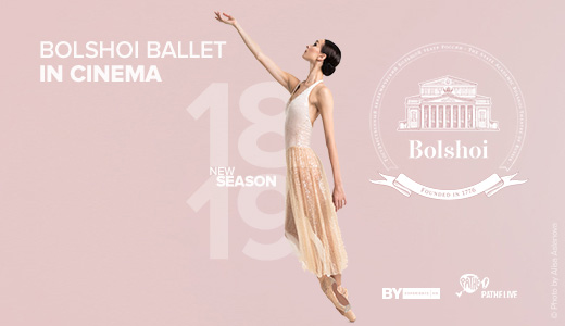 Bolshoi Ballet In Cinema 2018-2019 Season