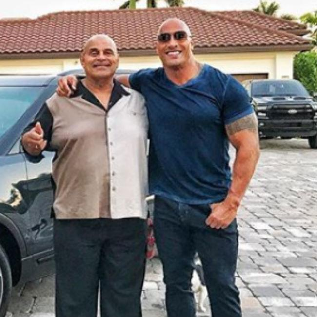 Dwayne Johnson's father gets his own biopic