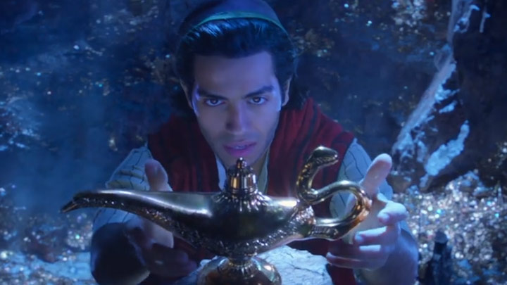 watch Disney's Aladdin Teaser Trailer